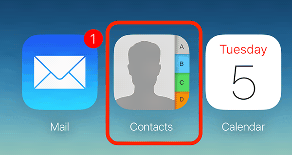Export iCloud Contacts to a VCF file